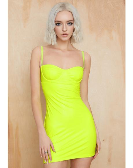Sleepless Nights Bodycon Dress