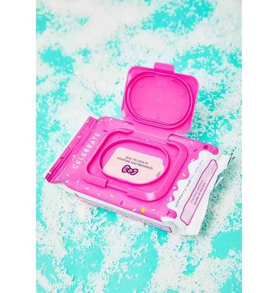 The Crème Shop Hello Kitty Complete Cleansing Towelettes