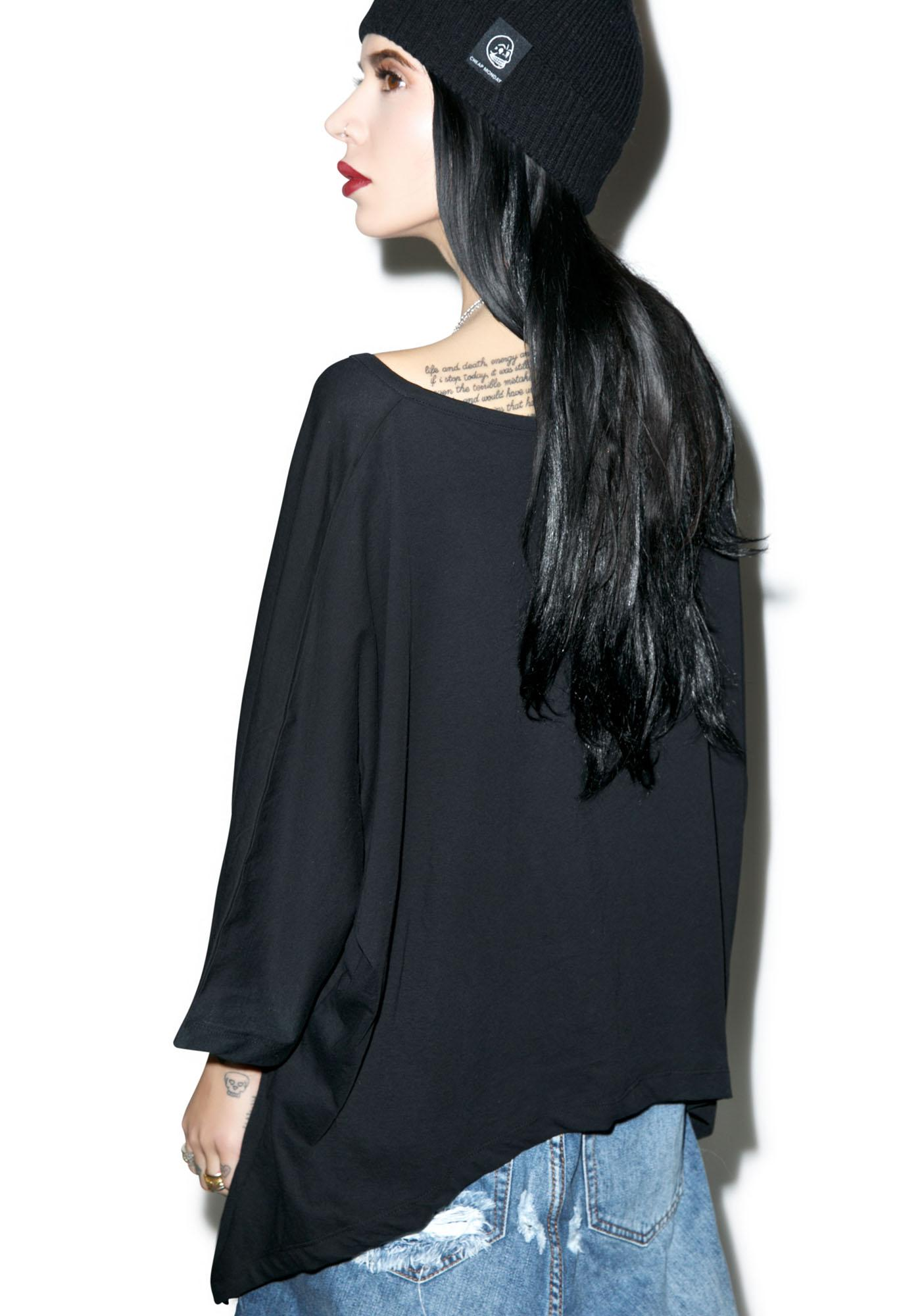 Killstar Aries Drape Top