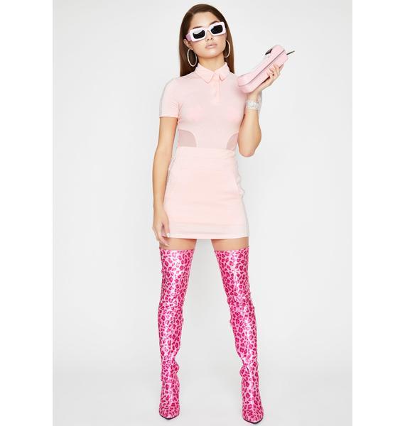 Rose Country Clubbin' Skirt Set