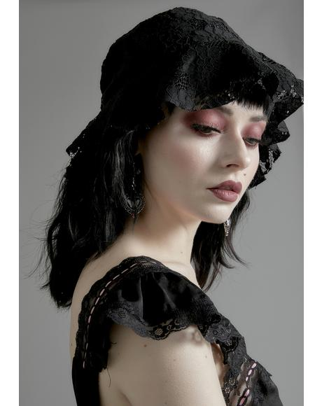 Nocturne Lace Bucket Hat