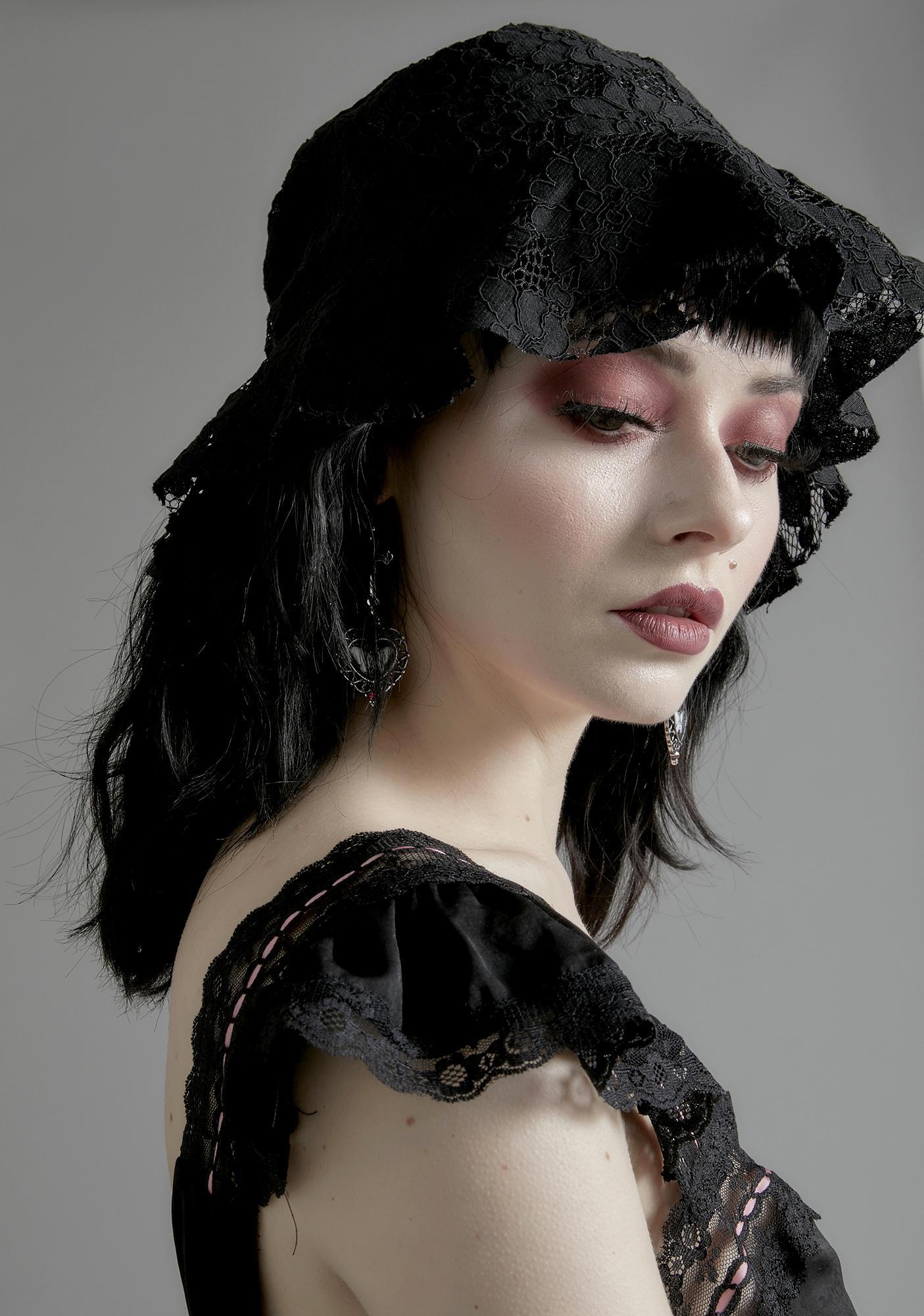 Nocturne Lace Bucket Hat