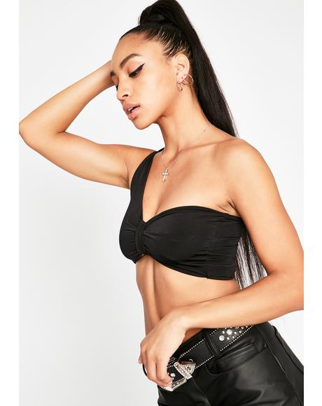 Dark No Reason Bandeau Top