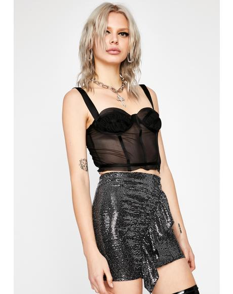 Night Club Groover Sequin Skirt