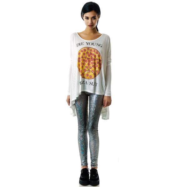 United Couture Pizza Slut Long Sleeve Tee