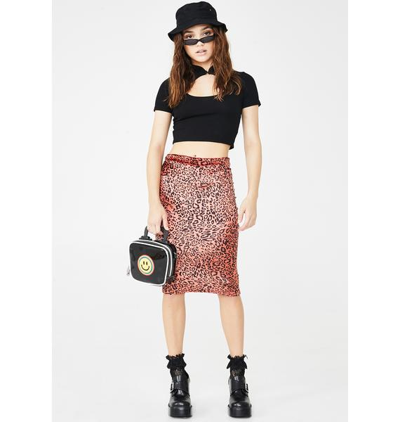 Klassy Kat Midi Skirt