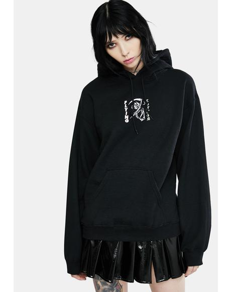 Reaper Graphic Pullover Hoodie