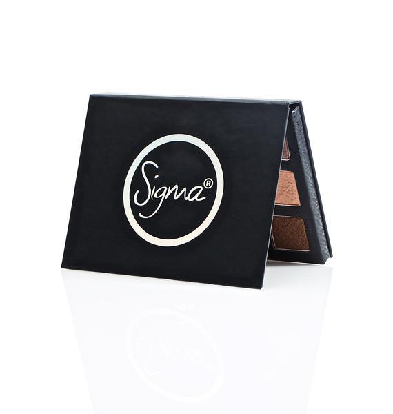 Sigma Warm Neutrals Eyeshadow Palette