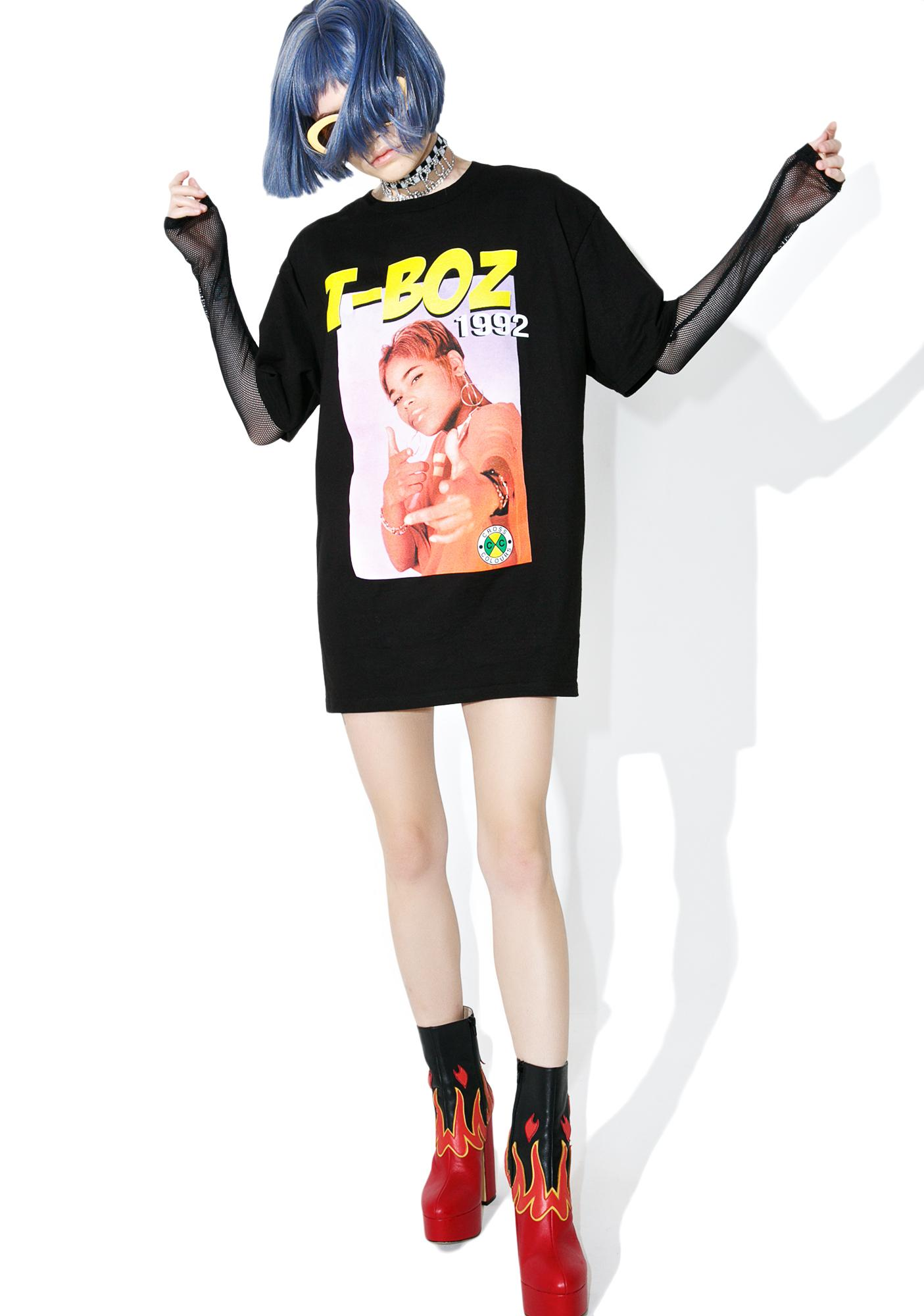 Cross Colours TLC T-Boz T-Shirt