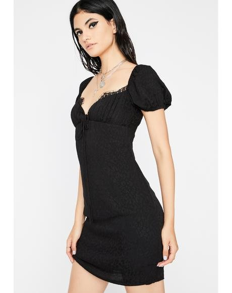 Ultra Chic Jacquard Dress