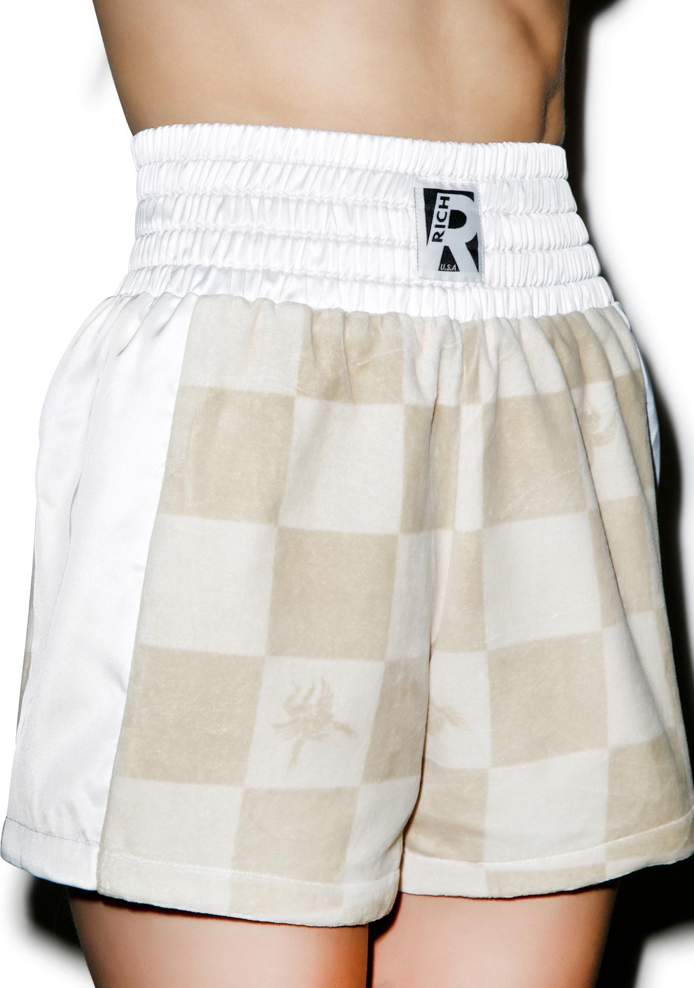 Joyrich Boxed Angel Boxing Shorts