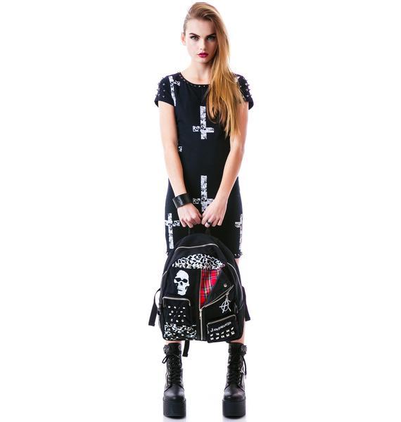 Oi Punk Vest Backpack