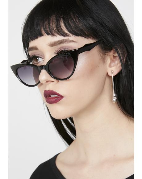 Wicked Wanda Cat Eye Sunglasses
