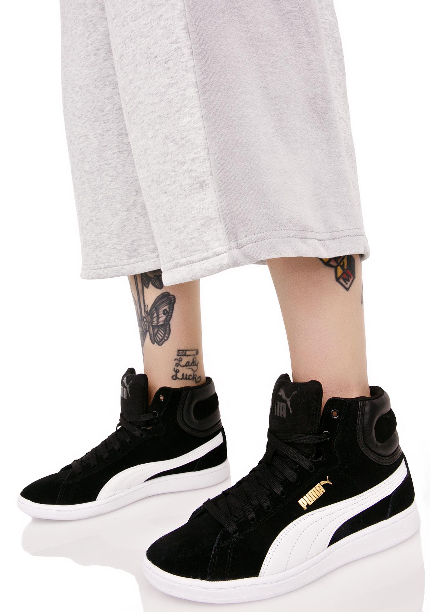 afcddc089b40b8 PUMA Vikky Mid Sneakers