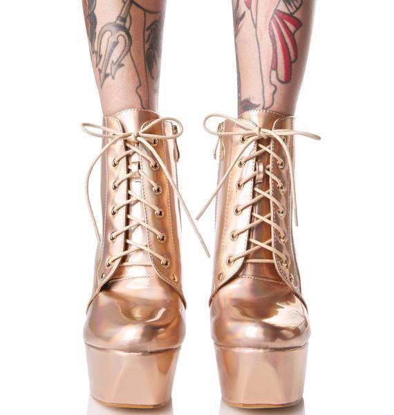 Goldie Not Sorry Platform Heels