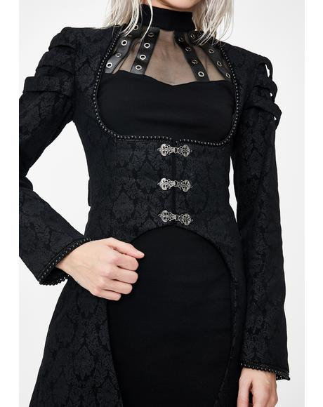 Gothic Floor Length Cocktail Jacket