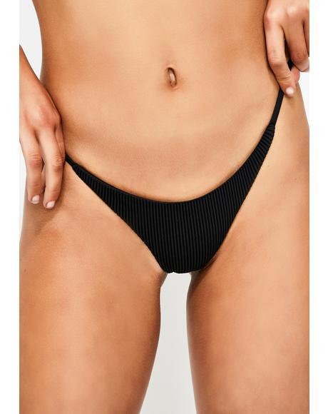 Midnight Willa Bikini Bottoms