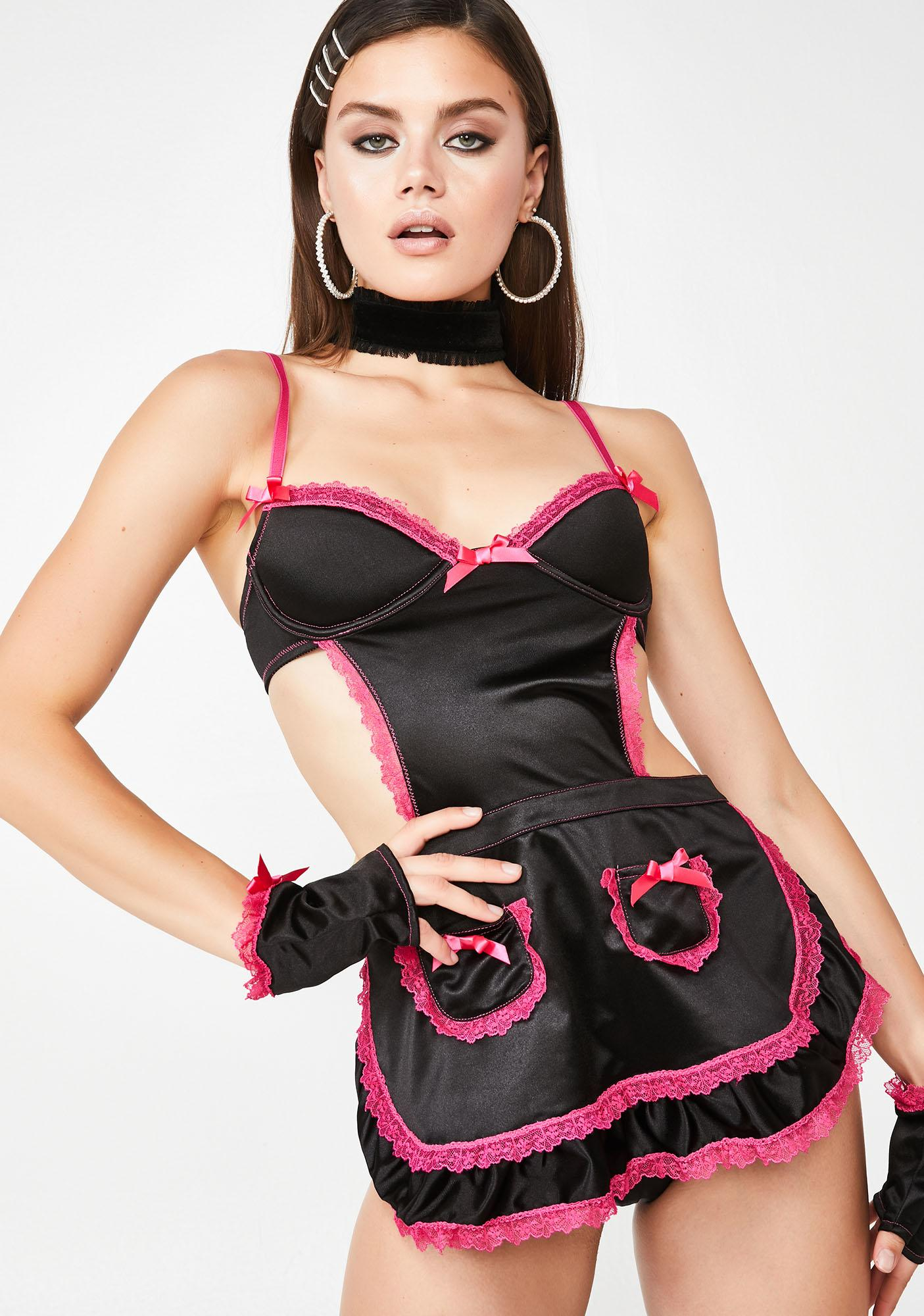 Sugar Thrillz Coco Carese Lingerie Set