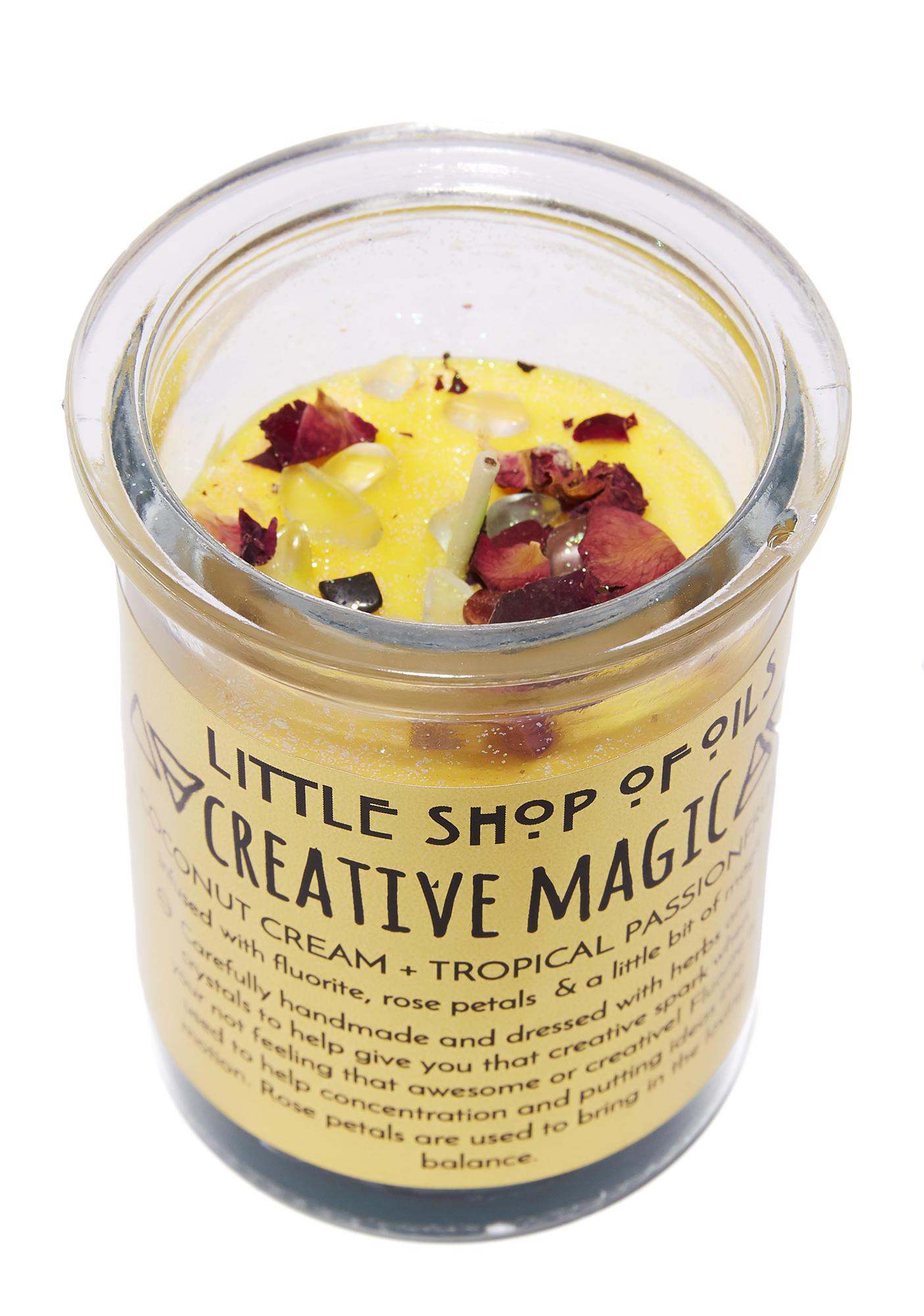 Little Shop of Oils Creative Magic Ritual Candle