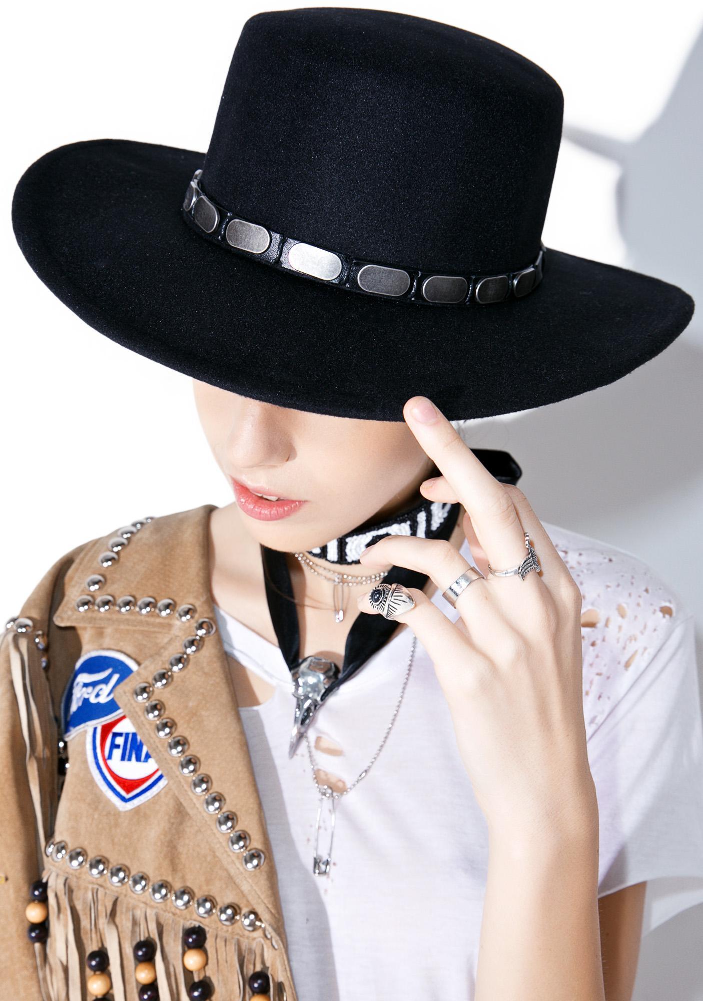 Kerouac Wide Brim Hat