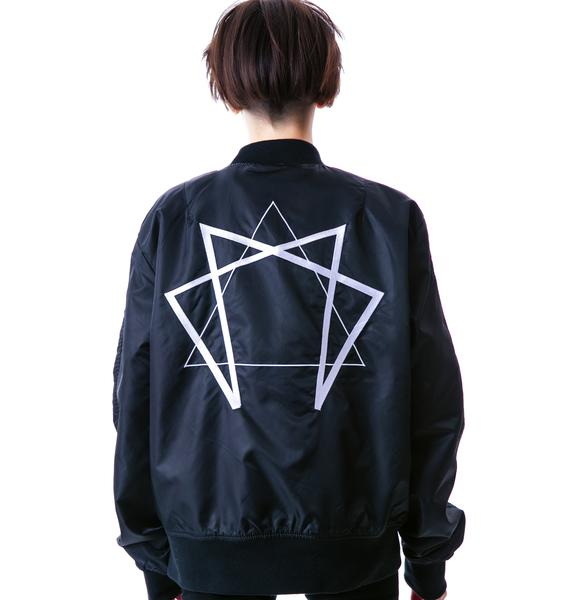 Long Clothing Enneagram Jacket
