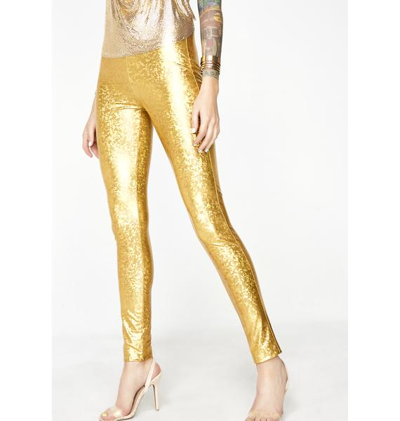 Golden Chose Party Life Leggings