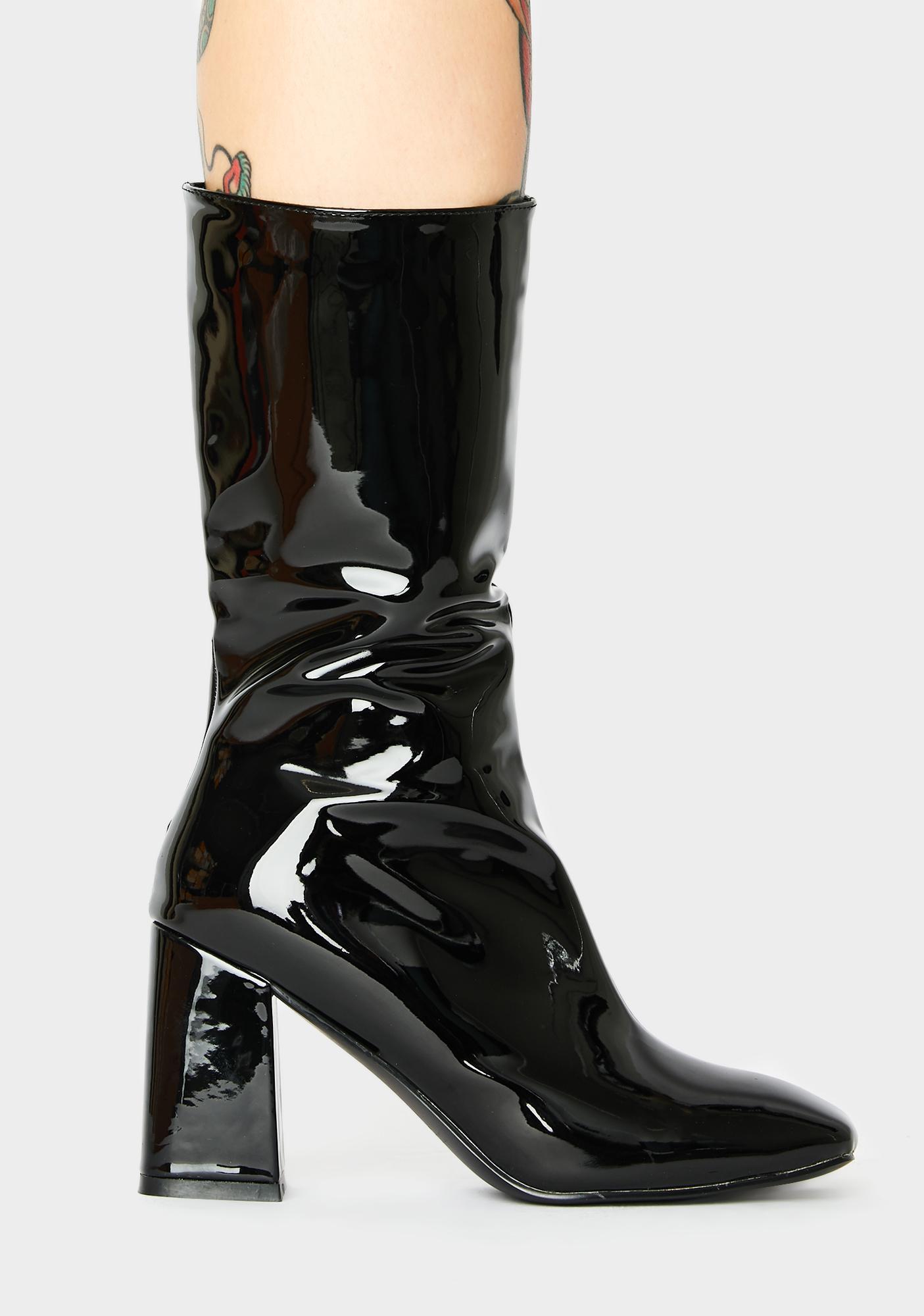 Public Desire Cinder Ankle Boots