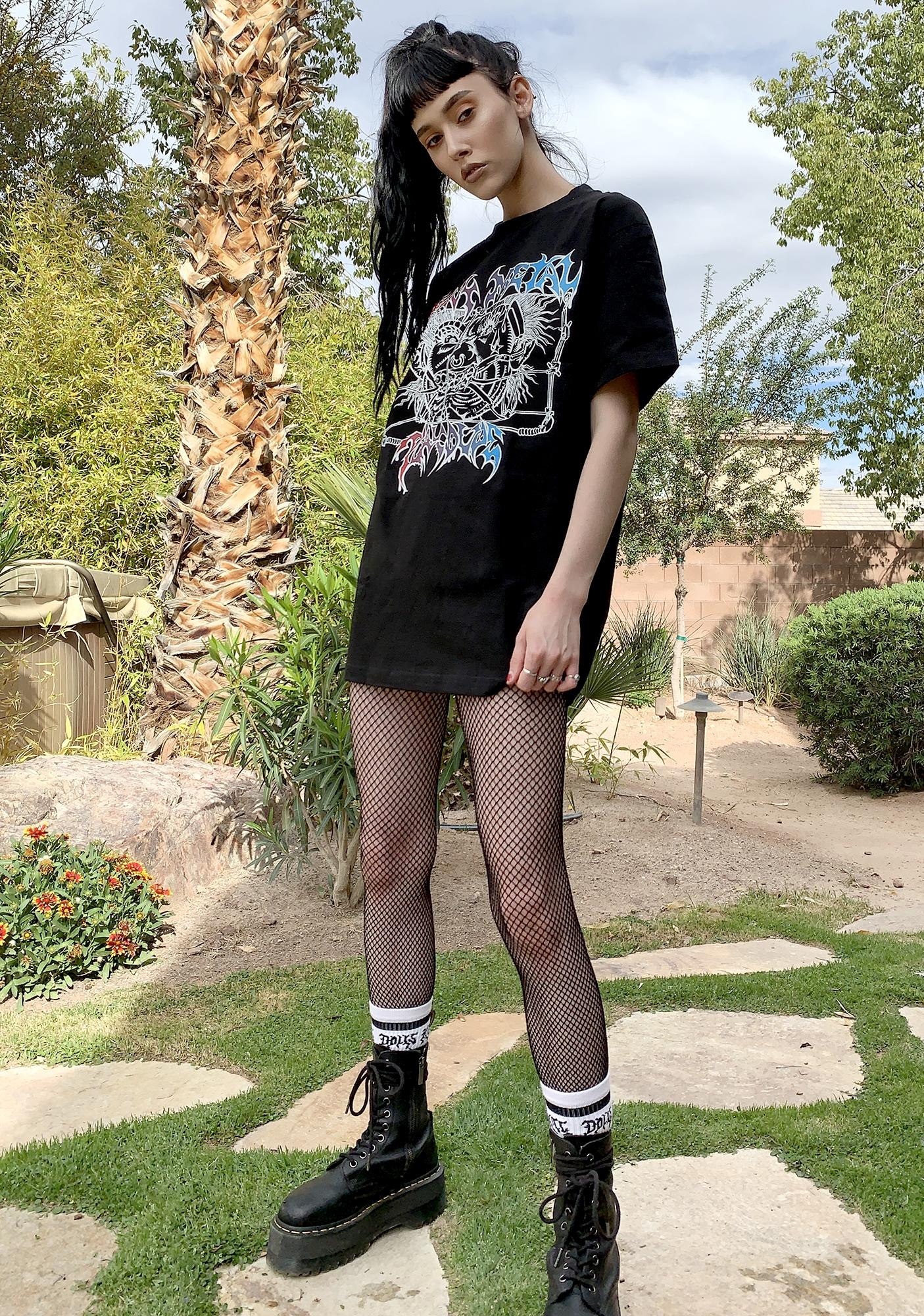 Playdude Heavy Metal Graphic Tee