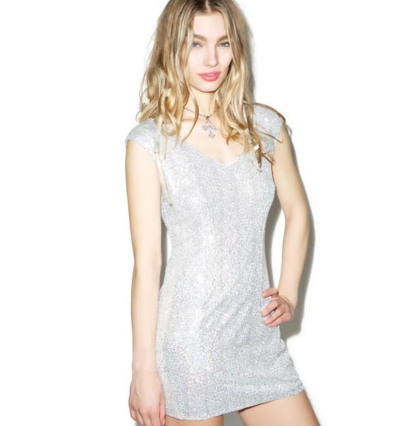 Glamorous Can't Stop My Shine Sequin Bodycon Dress