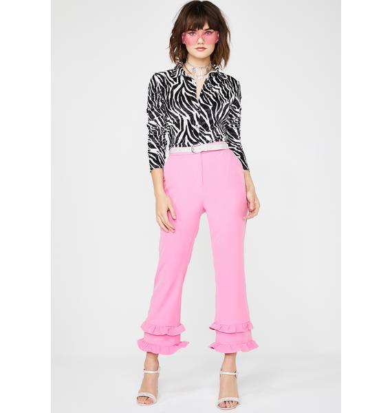 Glamorous Sugar High Flared Trousers
