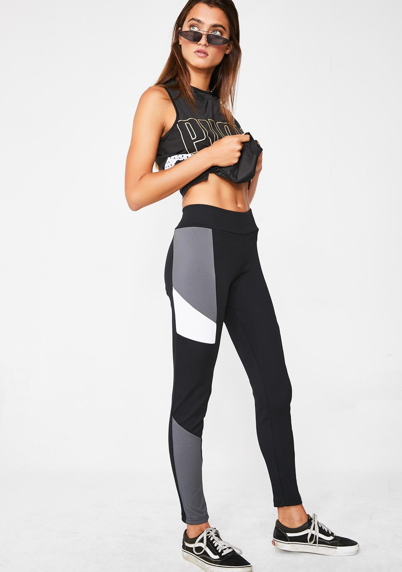 PUMA Retro Rib Leggings