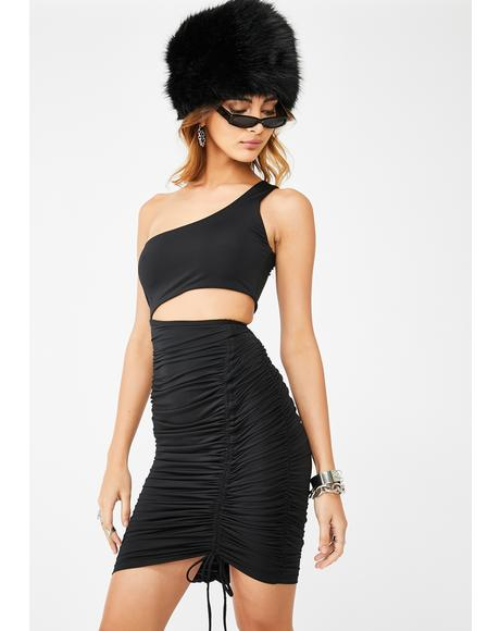 Baddie Intentions Bodycon Dress