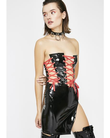 Forbidden Sins Mini Dress