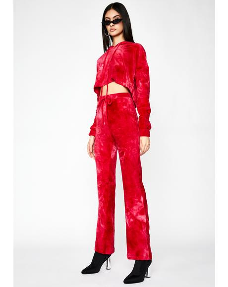Velvet Heaux Tie Dye Sweatpants