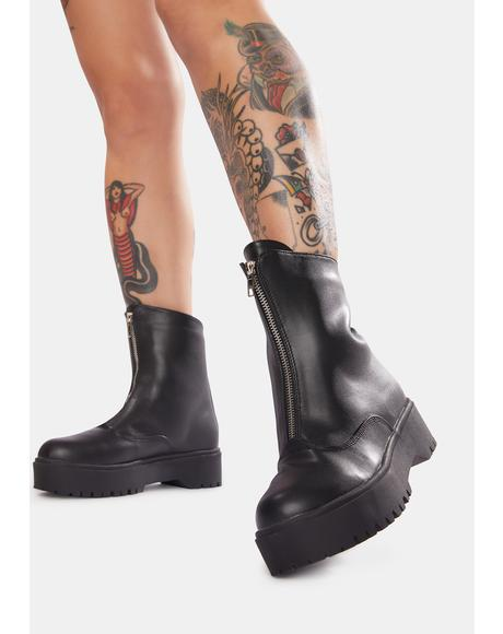 Super Trooper Ankle Boots