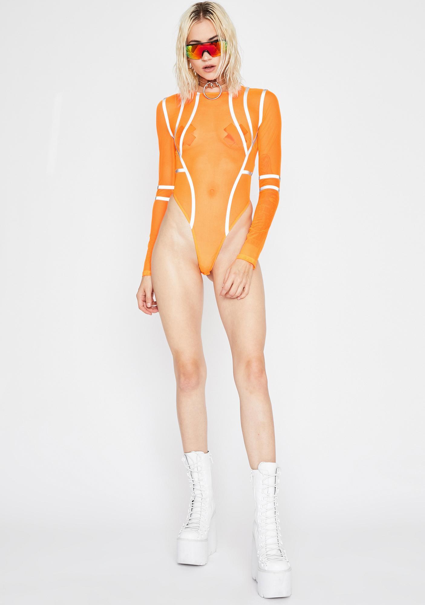 Juicy Kinetic Charge Reflective Bodysuit