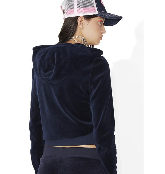 JUICY COUTURE Robertson Velour Jacket