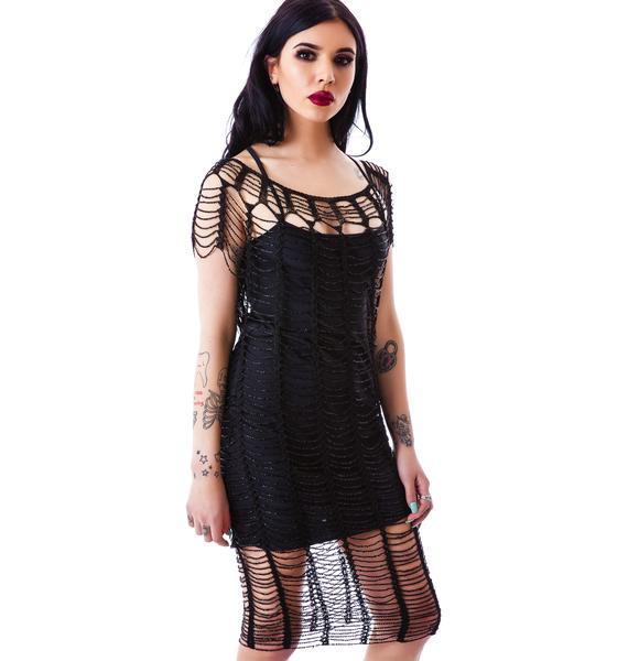 Widow A Haunting Beaded Dress