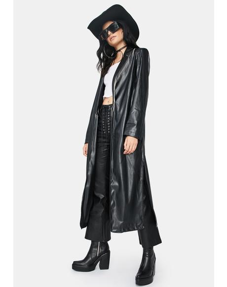 Fall Solstice Trench Coat