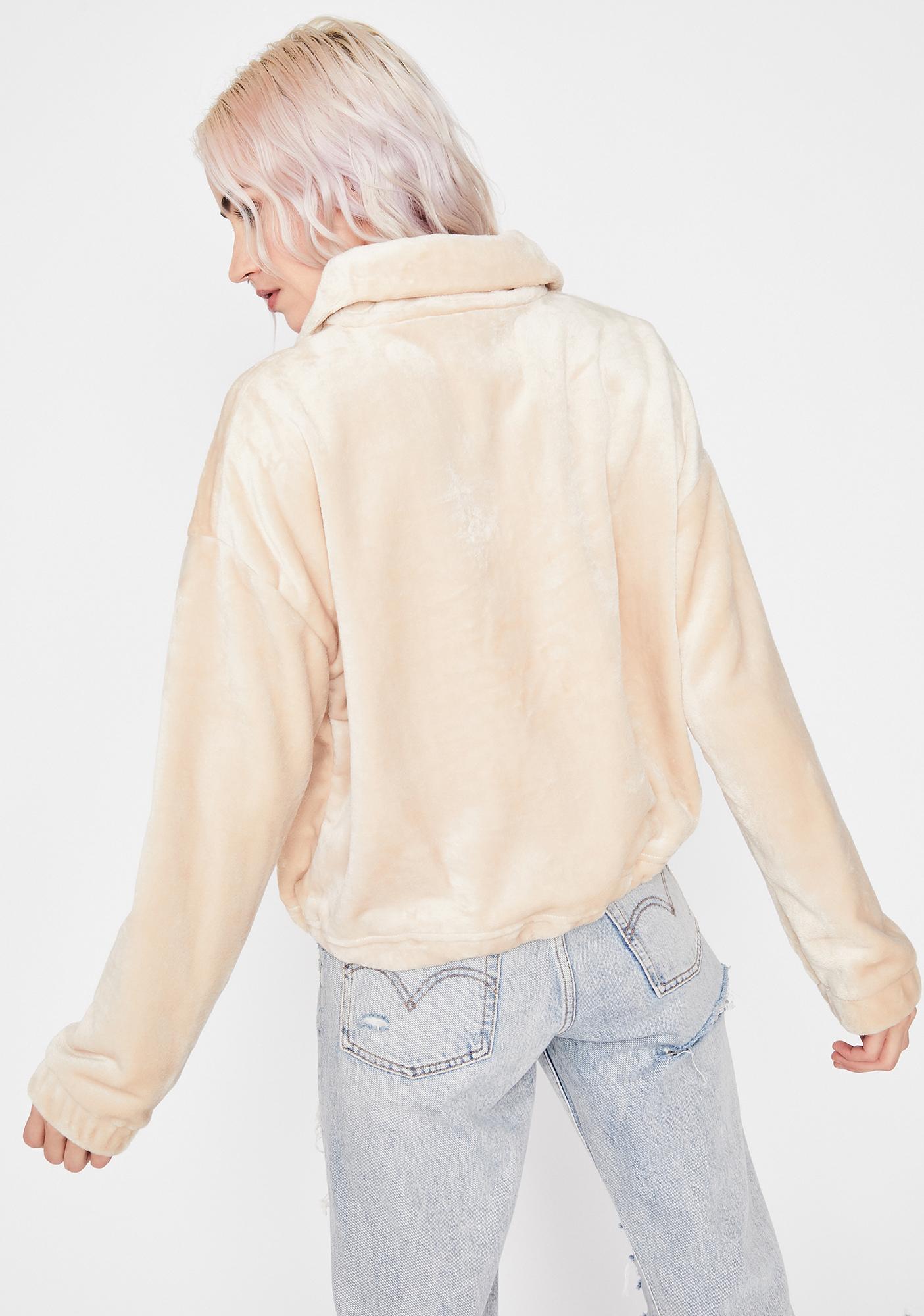 Sand So Unfazed Pullover Jacket