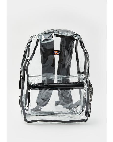Black All Clear Backpack