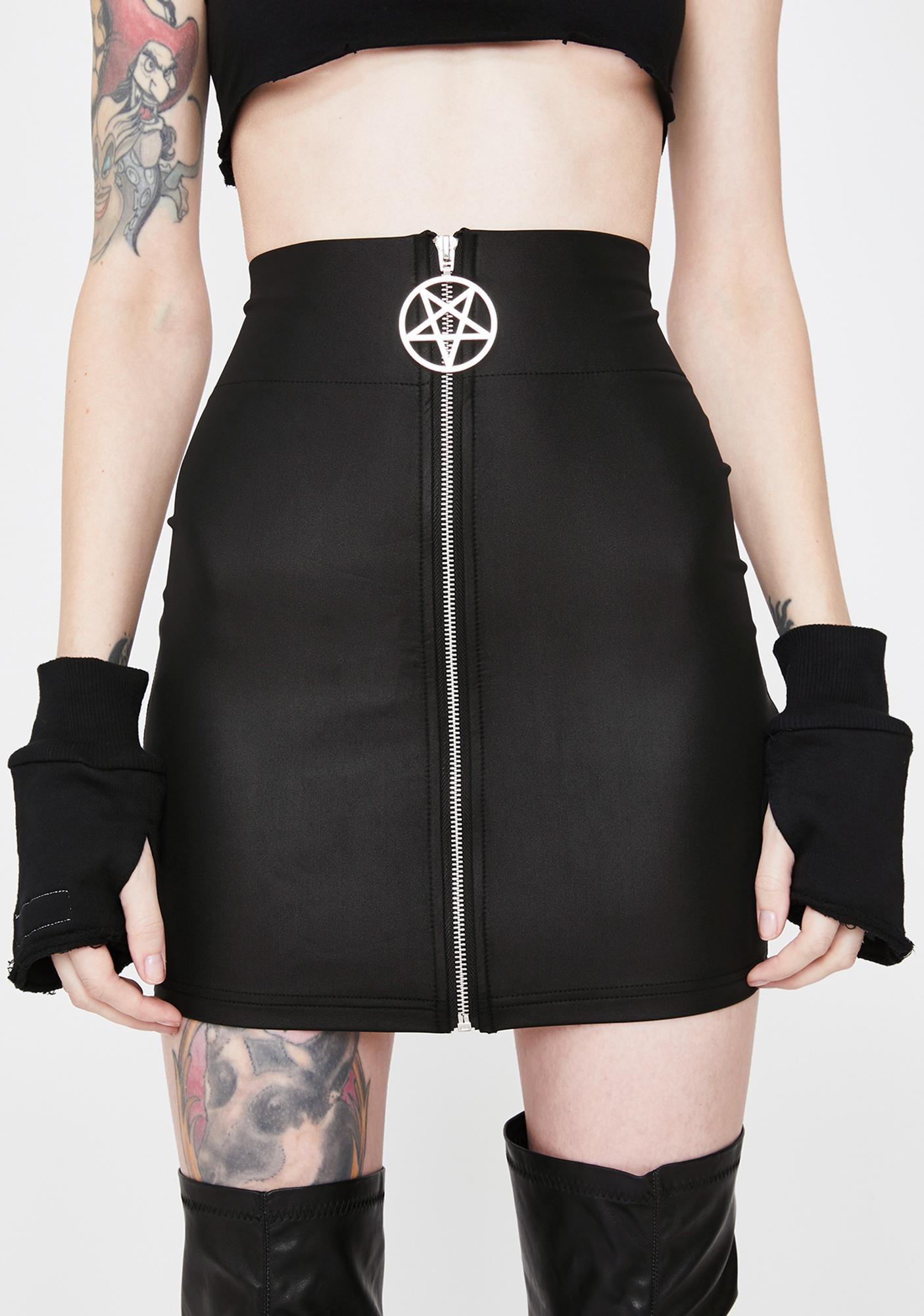 Killstar Demon Dance Mini Skirt