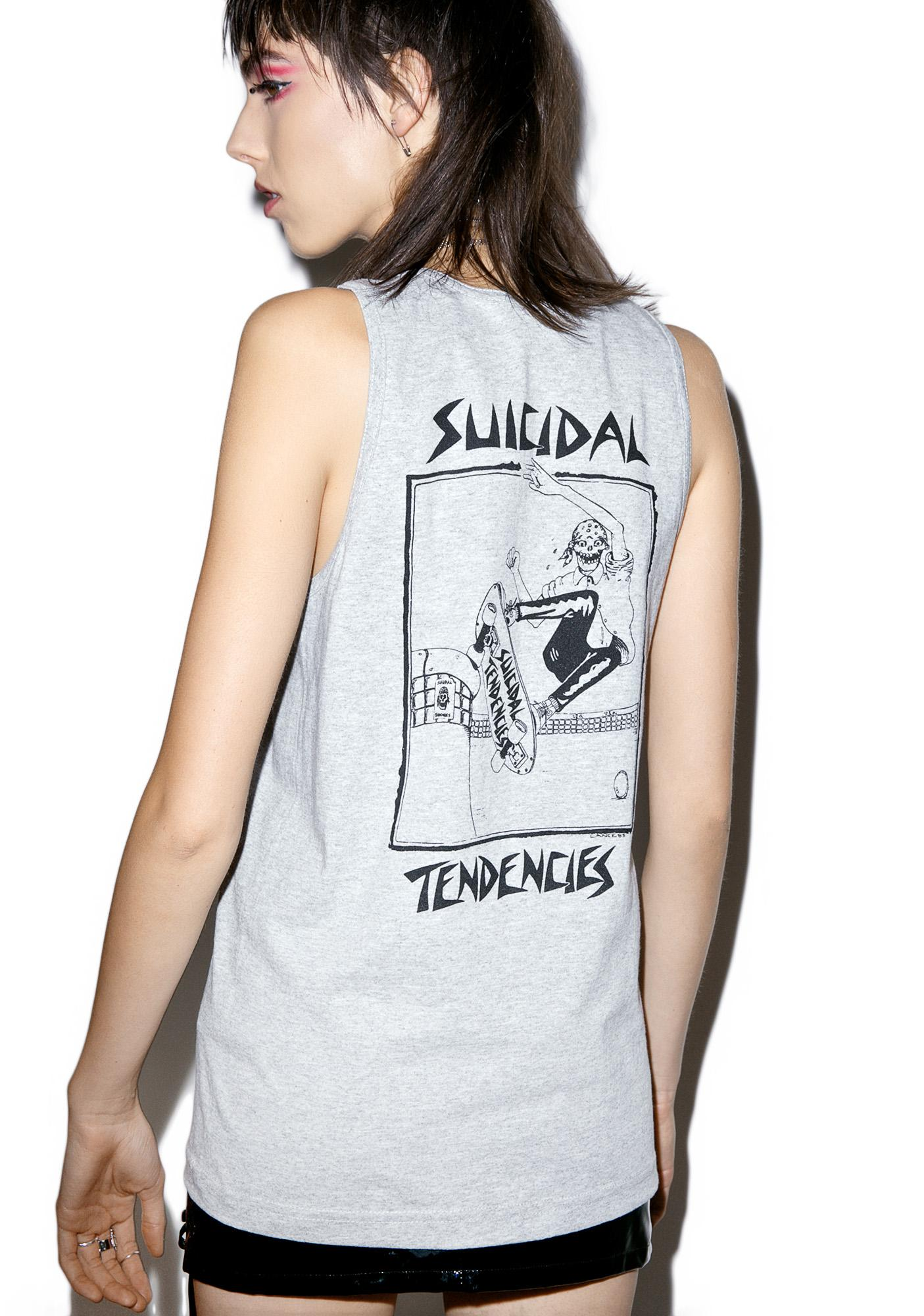 Suicidal Tendencies Old School Skater Tank