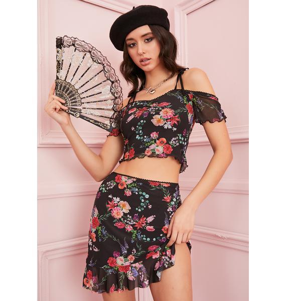 Sugar Thrillz Tryst Of Fate Mini Skirt
