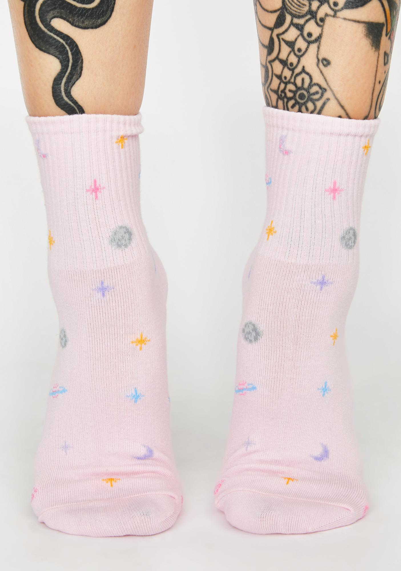 I Need Some Space Ankle Socks