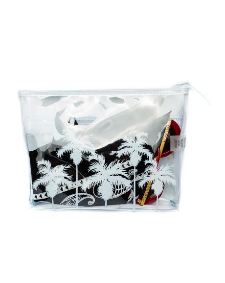Bel Air Palms Vinyl Bikini Bag