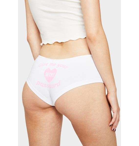 Femfetti WiFi Password Boyshort Undies