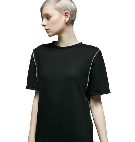MNML Tension Zippered Tee