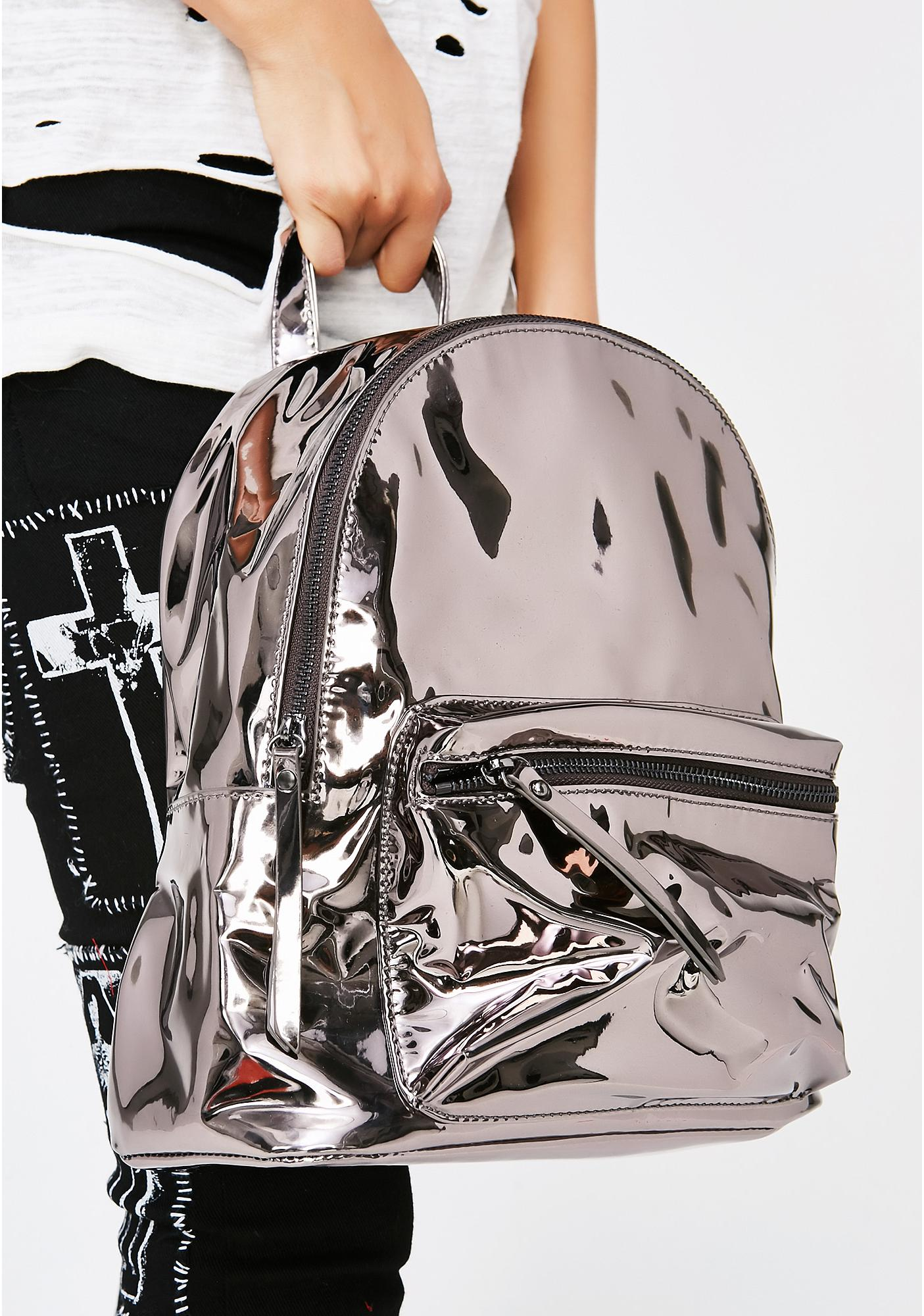 Strange Encounters Chrome Backpack