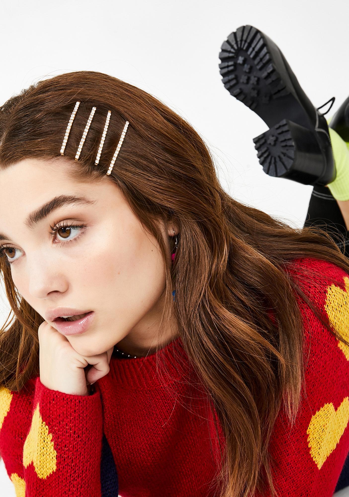Crushin' On Me Hair Pins